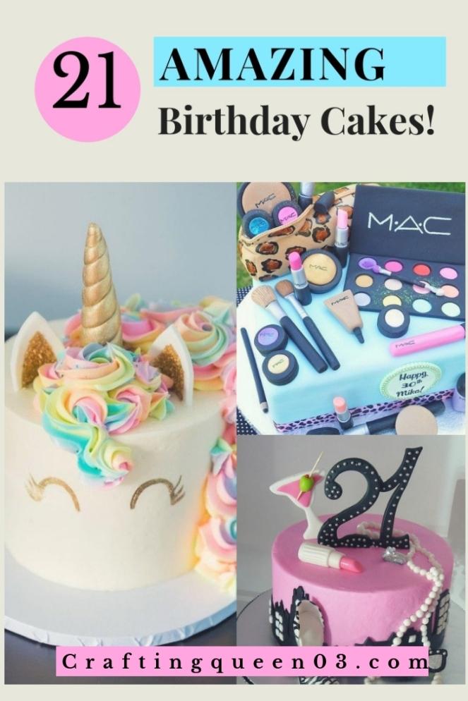 21 amazing borthday cakes