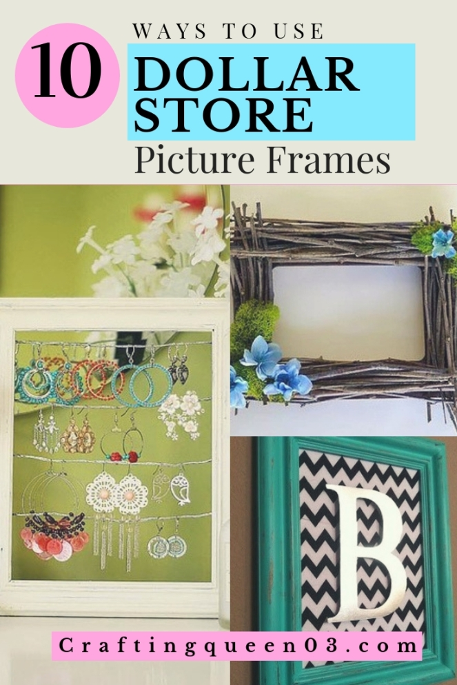 dollar store picture frames