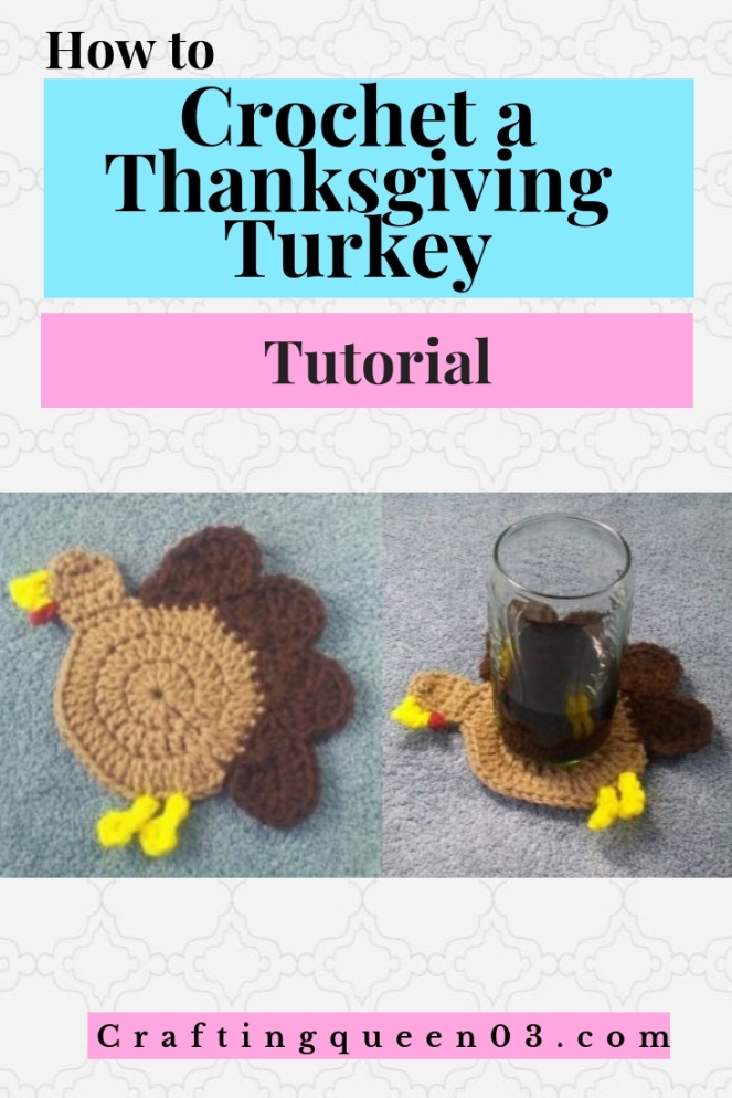 crochet a thanksgiving turkey