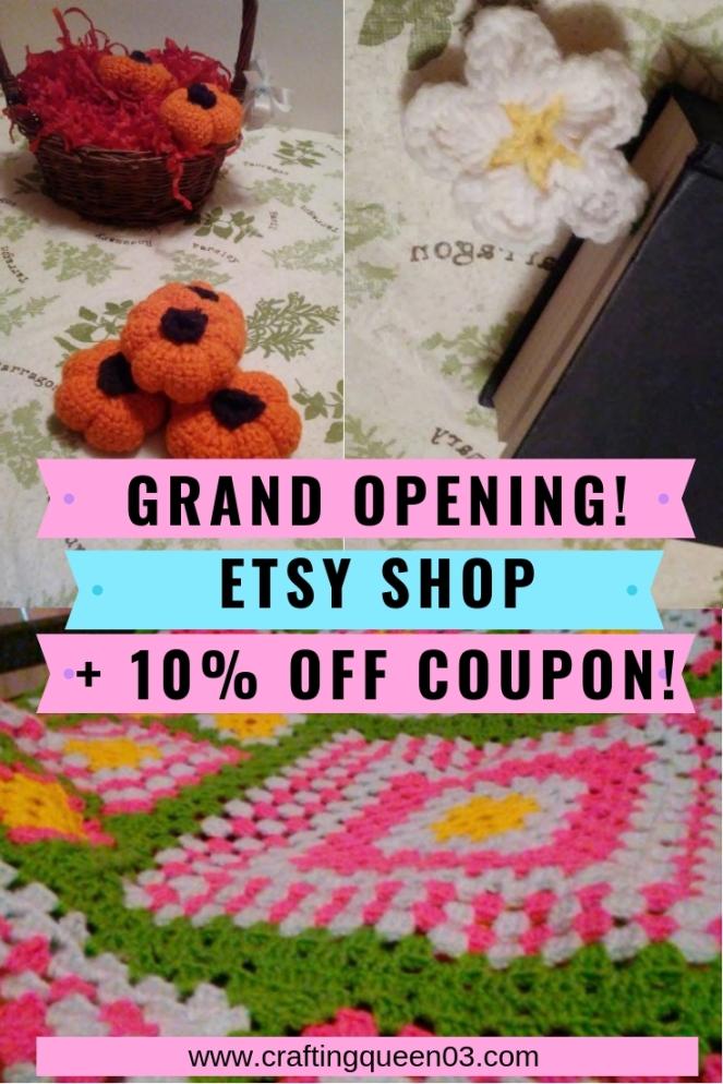 Etsy shop opening!