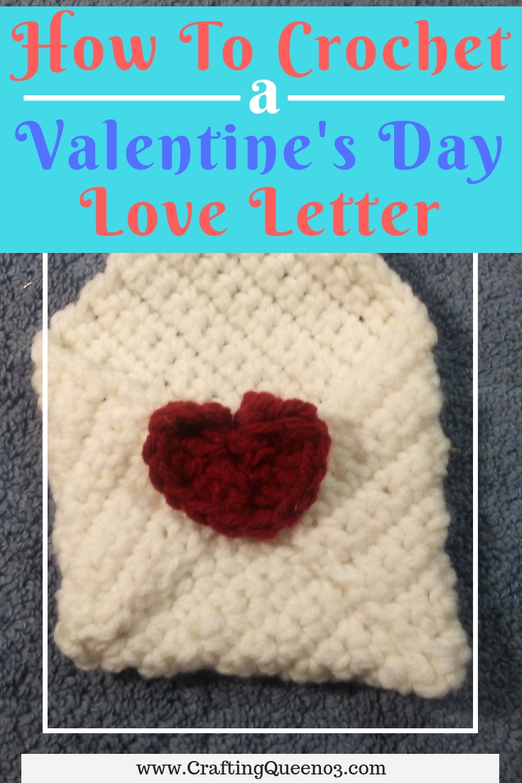 How to crochet a love letter