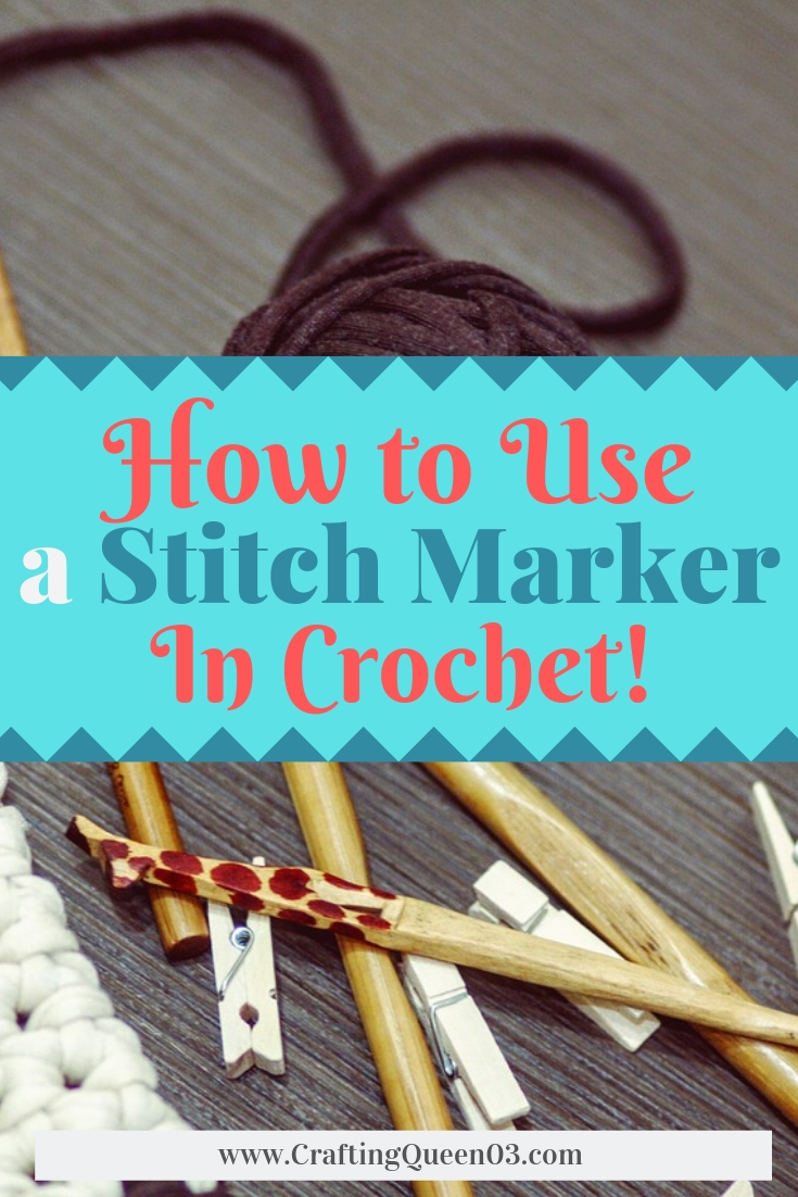 How to use a stitch marker in crochet